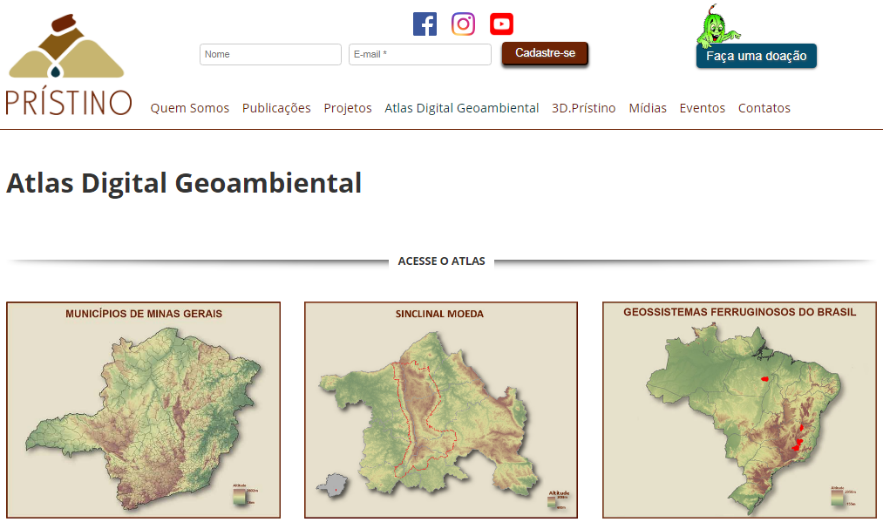 Atlas Digital Geoambiental do Instituto Prístino